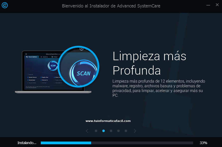 Instalar Advanced SystemCare Paso 2