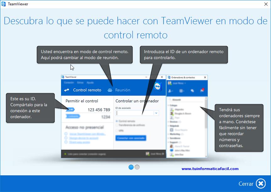 bajar teamviewer gratis en español