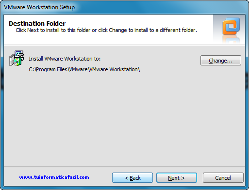 Instalación VMware Workstation