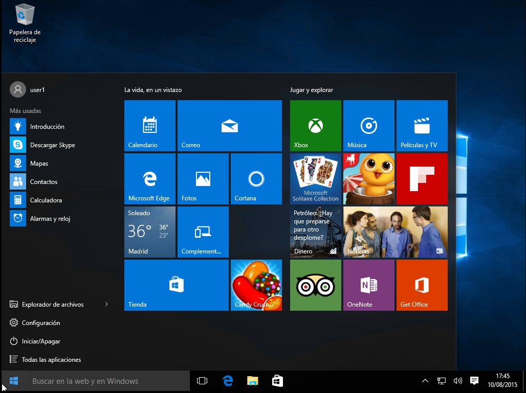 Descargar gratis Windows 10 todas las versiones