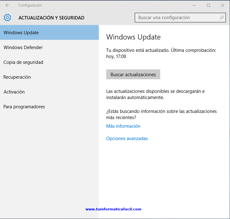 Como actualizar a Windows 10 Anniversary Paso 2