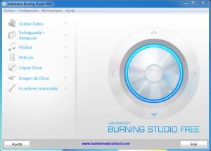 Descargar gratis Ashampoo Burning Studio FREE