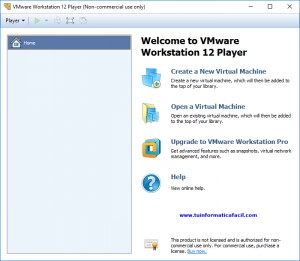 Descargar VMware Workstation Player 12