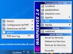Como usar sendmail de forma local en WampServer