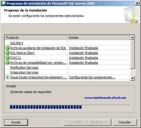 SQL Server 2005 Enterprise Edition - Imagen 11