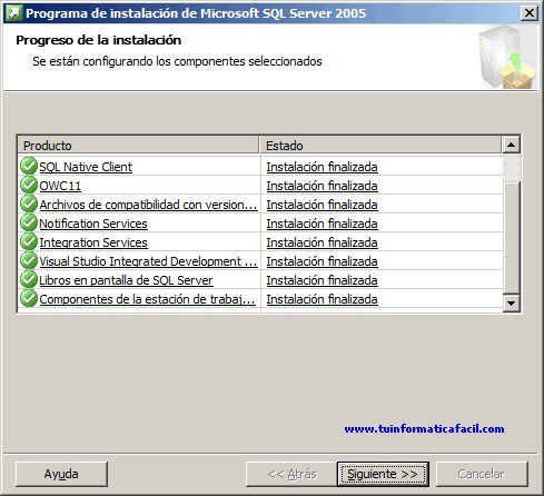 SQL Server 2005 Enterprise Edition - Imagen 12