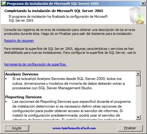 SQL Server 2005 Enterprise Edition - Imagen 13